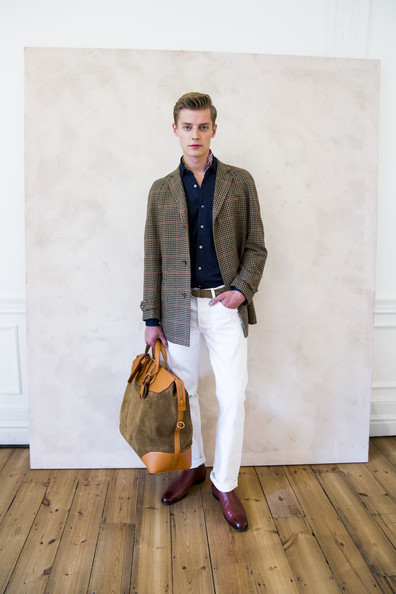 Janis Ancens for Dunhill Presentation SS15 a